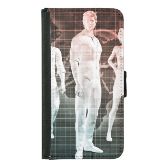 Business People Working Together on an Internation Samsung Galaxy S5 Wallet Case