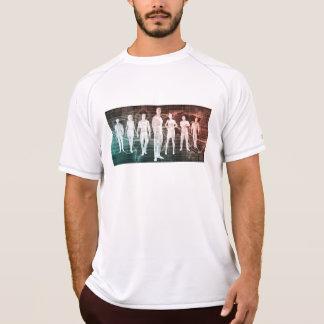 Business People Working Together on an Internation T-Shirt