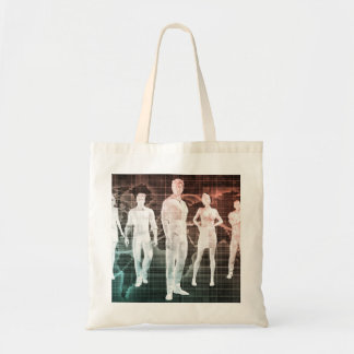 Business People Working Together on an Internation Tote Bag