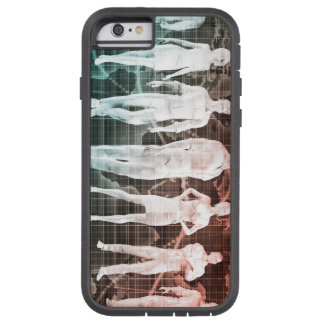 Business People Working Together on an Internation Tough Xtreme iPhone 6 Case