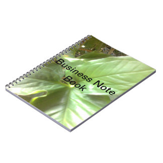 business photo note book
