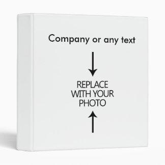 Business Photo Template Binders