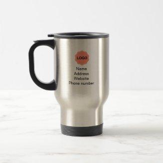 Business promotional travel mug