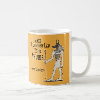 Business Secret: Make UK Company Law Your Anubis Coffee Mug