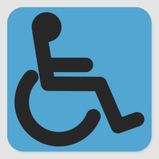 Business Supplies Handicap Accessible Sticker
