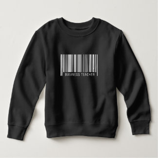 Business Teacher Barcode Sweatshirt