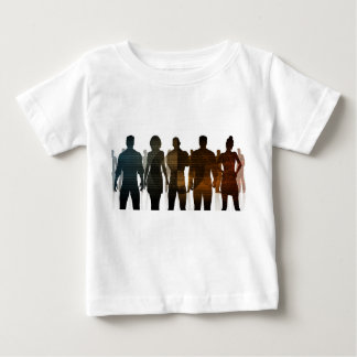 Business Team of Professionals Standing for Career Baby T-Shirt