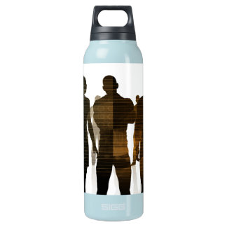 Business Team of Professionals Standing for Career Insulated Water Bottle