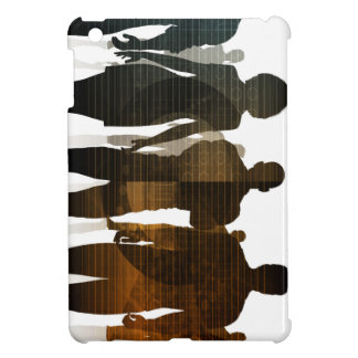 Business Team of Professionals Standing for Career iPad Mini Cover