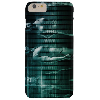 Business Team with Serious Expression Barely There iPhone 6 Plus Case