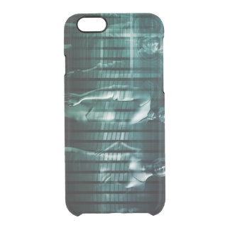 Business Team with Serious Expression Clear iPhone 6/6S Case