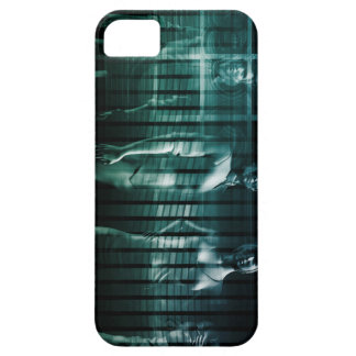Business Team with Serious Expression iPhone 5 Covers