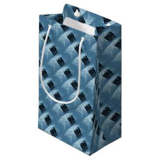 Business Team World Trade Map Logistics Concept Small Gift Bag