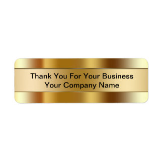 Business Thank You Labels
