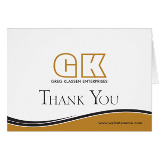 Business Thank You Note Card