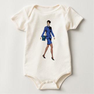 Business Woman Baby Bodysuit