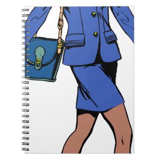Business Woman Notebook