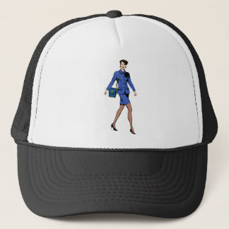 Business Woman Trucker Hat