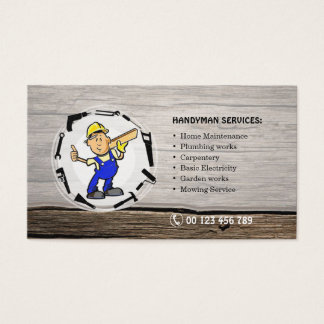 Businesscard for Handyman services Business Card