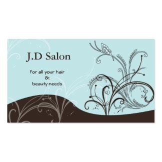 Businesscards de salon carte de visite standard