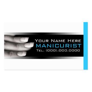 Businesscards pour des salons de clou carte de visite standard