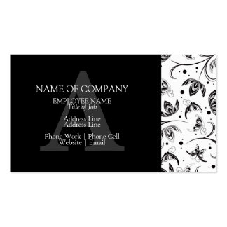 BusinessCards With Monograms  Profile Cards Business Card