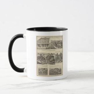 Businesses, residences, San Jose, Mtn View Mug