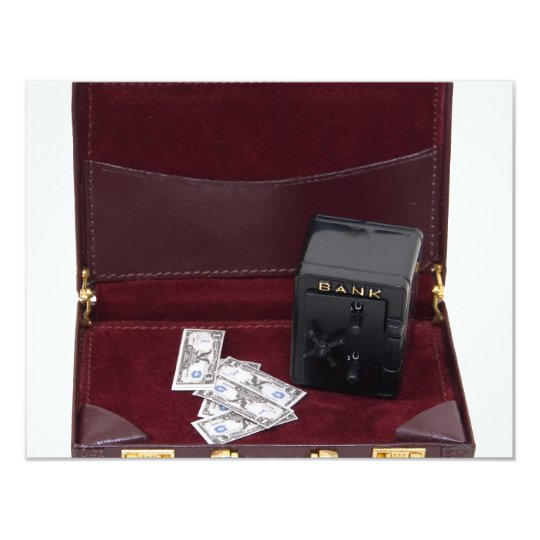 "BusinessFinances070109 4.25"" X 5.5"" Invitation Card"