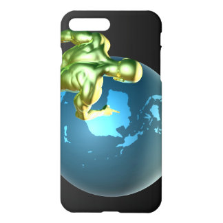 Businessman Pointing at Australia or New Zealand iPhone 7 Plus Case