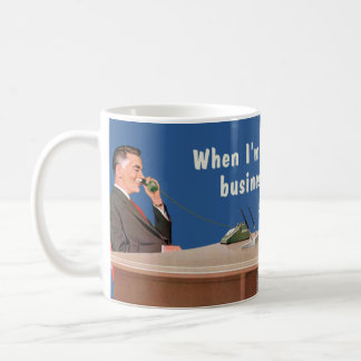businessman voice classic white coffee mug