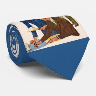 businessmen doing business tie
