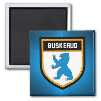Buskerud Flag Magnet