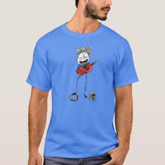Busking-Street Musician-Muso T-Shirt