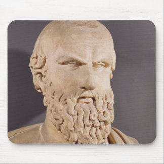 Bust of Aeschylus Mouse Pad
