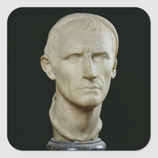 Bust of Antiochus III Square Sticker