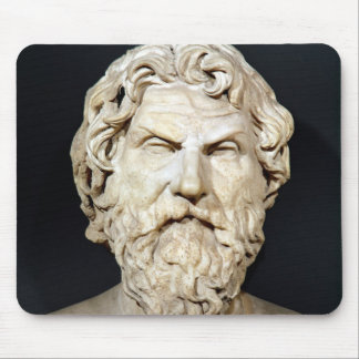 Bust of Antisthenes Mouse Pad
