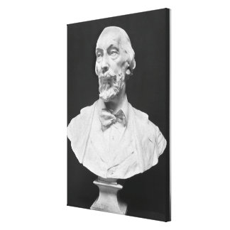Bust of Auguste Vacquerie Canvas Print