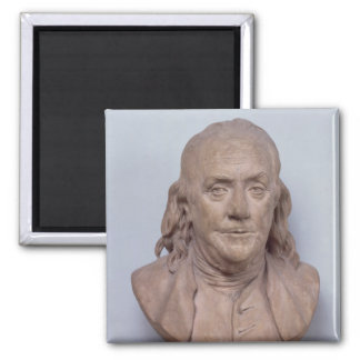 Bust of Benjamin Franklin  1778 Magnet