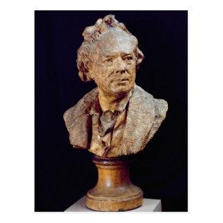 Bust of Christoph Wilibald von Gluck  c.1775 Postcard