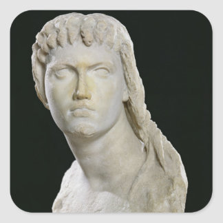 Bust of Cleopatra II or her daughter Stickers
