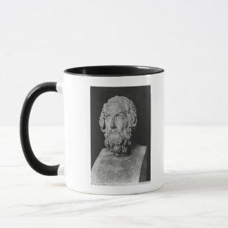 Bust of Homer, Hellenistic period Mug
