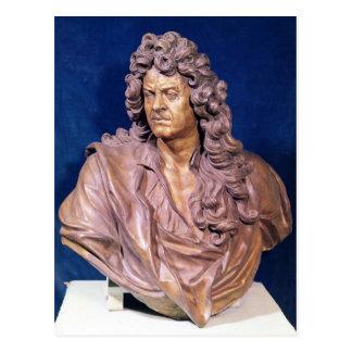 Bust of Jean Baptiste Lully Postcard