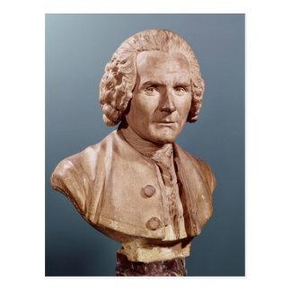 Bust of Jean-Jacques Rousseau Postcard