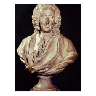 Bust of Jean-Philippe Rameau  1760 Postcard