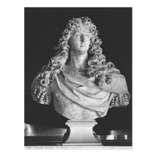 Bust of Louis XIV  c.1678-81 Postcard