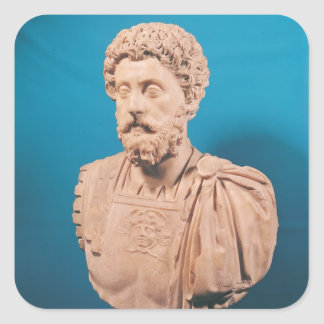 Bust of Marcus Aurelius Square Sticker