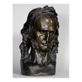 Bust of Nicolo Paganini  1830 Postcard