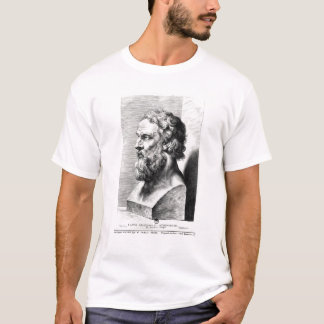 Bust of Plato engraved by Lucas Emil T-Shirt