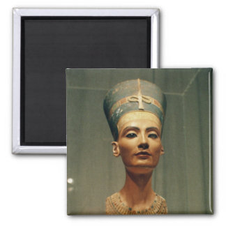 Bust of Queen Nefertiti front view Refrigerator Magnet