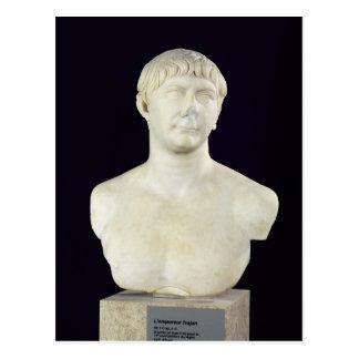 Bust of Trajan  c.108 Postcard